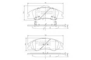 Тормозные колодки комплект Kia Cerato