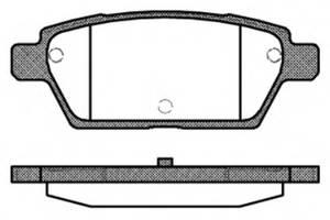 Тормозные колодки комплект Mazda 6