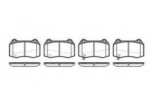 Тормозные колодки комплект Nissan