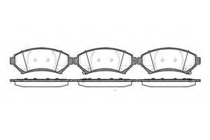 Тормозные колодки комплект Opel Sintra