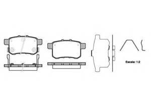 Тормозные колодки комплекты Honda Accord