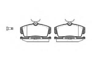 Тормозные колодки комплект Nissan Almera
