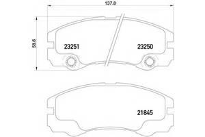 Тормозные колодки комплект Opel Frontera