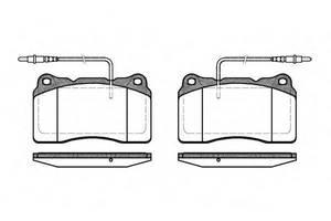 Тормозные колодки комплект Peugeot 607