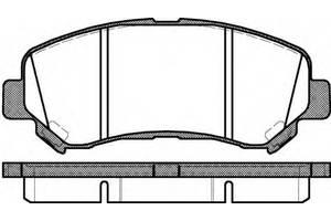 Тормозные колодки комплект Suzuki Kizashi