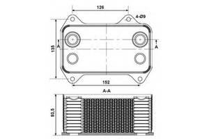 Радиаторы Daf XF 95