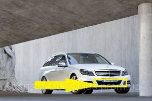 Решётка бампера Mercedes