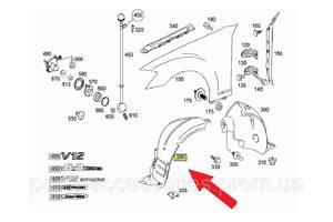 Новые Брызговики и подкрылки Mercedes S-Class