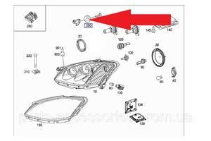 Новые Крепления фар Mercedes S-Class