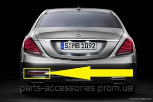 Новые Бамперы задние Mercedes