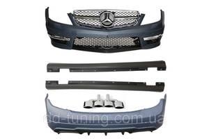 Порог Mercedes AMG