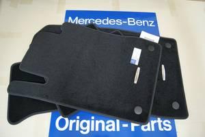 Новые Ковры салона Mercedes