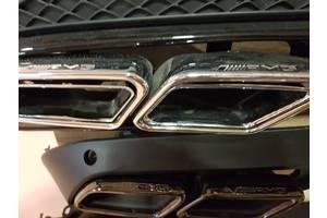 Новые Глушители Mercedes S 63 AMG