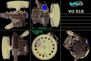 Новые Насосы гидроусилителя руля Volvo S80