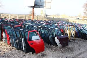Двери передние Peugeot Partner груз.