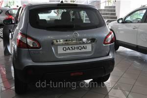 Хромированные накладки Nissan Qashqai