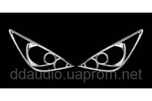 Хромированные накладки Nissan TIIDA