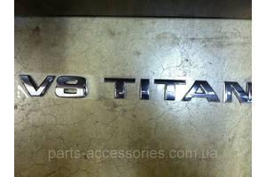 Новые Эмблемы Nissan Titan