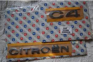 Новые Эмблемы Citroen C4