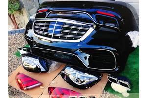 Новые Решётки радиатора Mercedes S 63 AMG