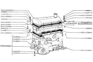 Новые Блоки двигателя ВАЗ 2103