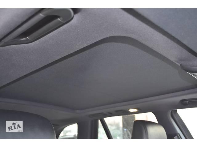 черный потолок с люком на BMW e60