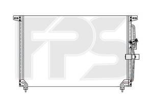 Радиатор печки Opel Omega B