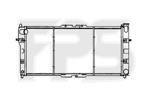 Радиатор Mazda 626
