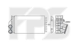 Радиатор печки Peugeot C4