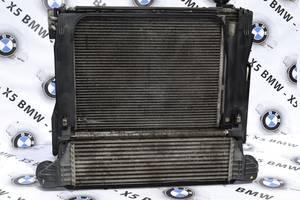 Радиатор интеркуллера BMW X5