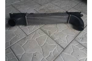 б/у Радиатор интеркуллера Opel Omega B