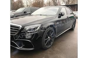 Новые Бамперы задние Mercedes S 500