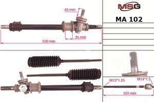 Новые Рулевые рейки Mazda 323