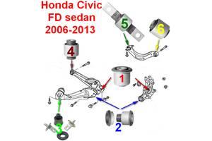 Новые Сайлентблоки Honda Civic