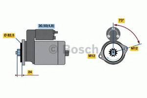 Стартер/бендикс/щетки Volkswagen Crafter