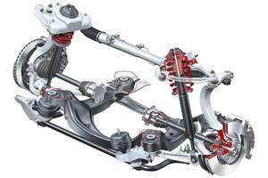 б/у Амортизаторы задние/передние Audi A6