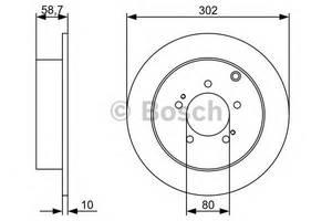 Тормозной диск Citroen C-Crosser