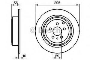 Тормозной диск Citroen Evasion