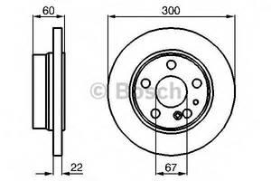 Тормозной диск Mercedes S-Class