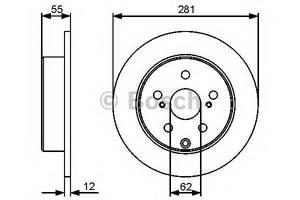 Тормозные диски Toyota Rav 4