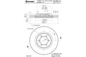 Тормозной диск Hyundai Terracan