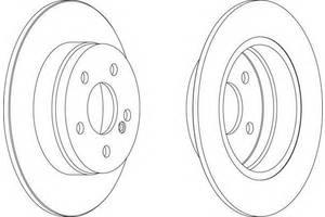 Тормозные диски Mercedes C-Class