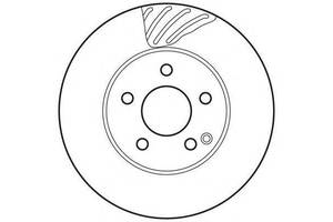 Тормозной диск Mercedes C-Class