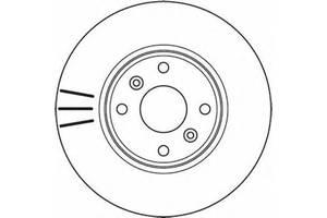 Тормозной диск Renault Megane II