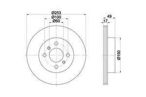 Тормозные диски Suzuki Ignis
