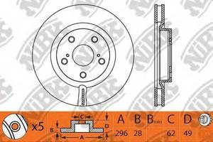 Тормозной диск GMC