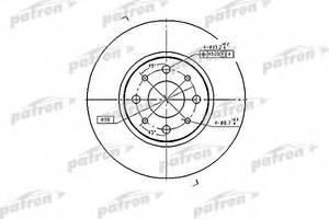 Тормозной диск Fiat Punto