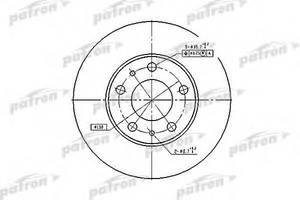 Тормозные диски Peugeot Boxer груз.