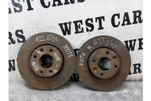 б/у Тормозные диски Nissan Note