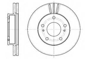 Тормозной диск Nissan Vanette груз.